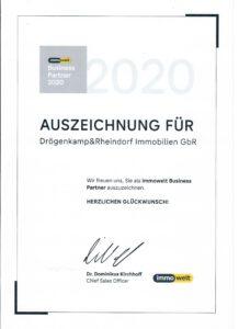 Business Partner Award
